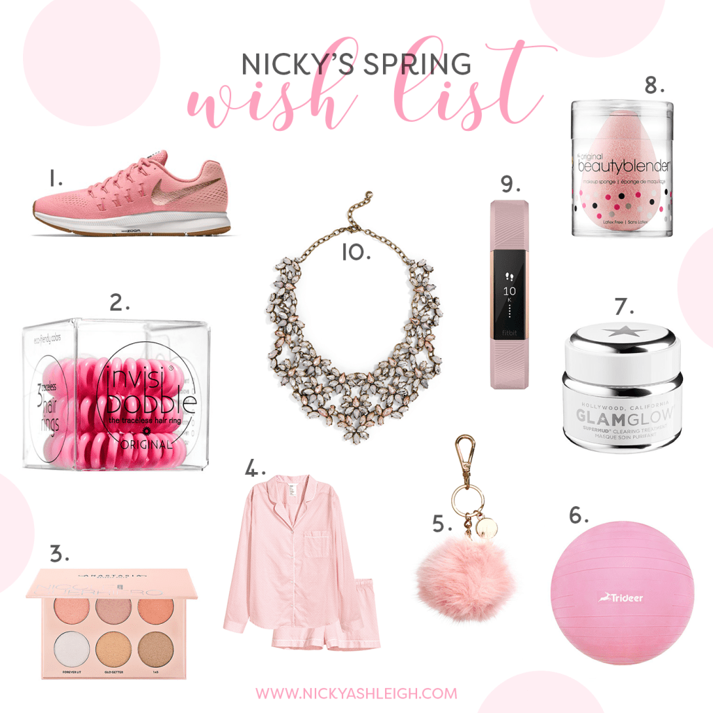 Nic's Spring Wish List 2017