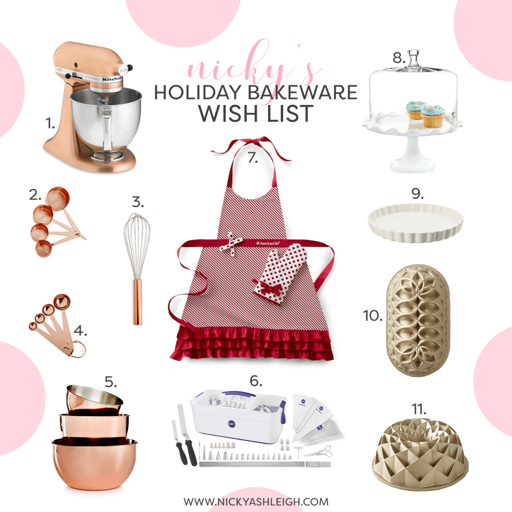 Nic's Holiday Bakeware Wish List!!