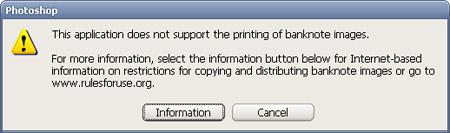 CS2 Printing Dialog box