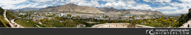 Lhasa Tibet Panoramic