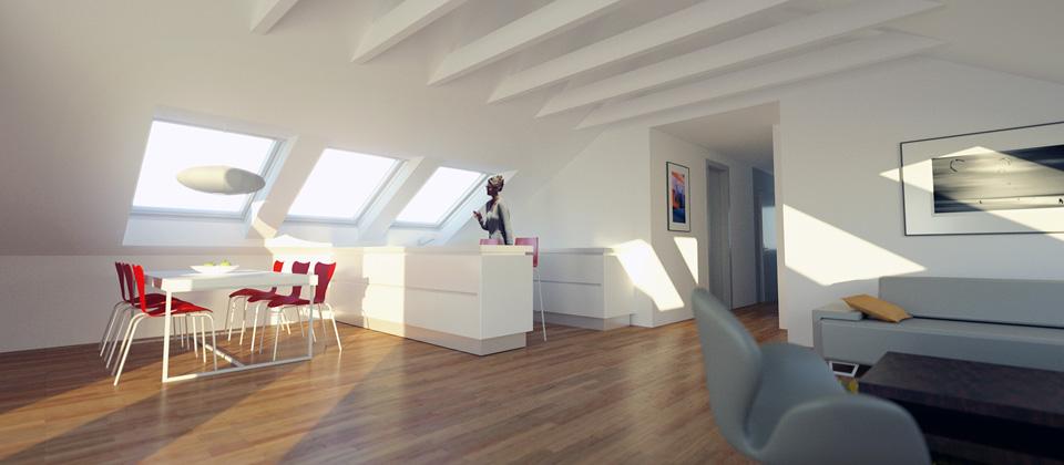 Dachgeschossausbau Architekturbro Liersch Architekt
