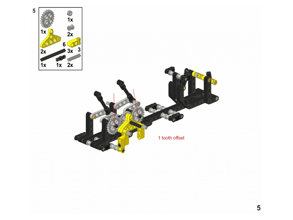 LEGO MOC-0047 GBC Module: The Wave (Technic 2010