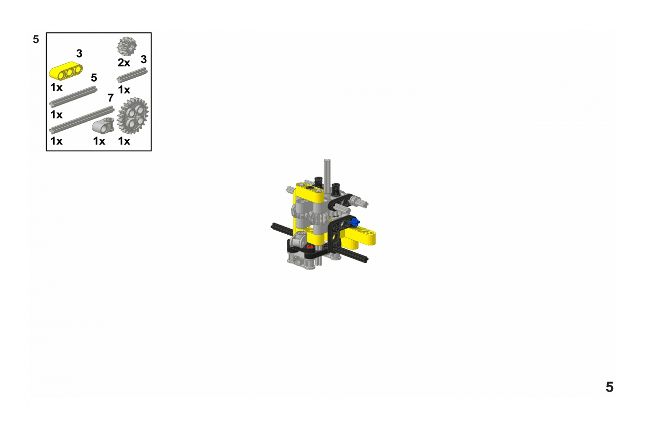 Wheel Loader : New Building Instructions