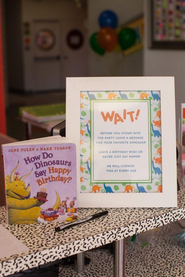 Dino-mite Dinosaur Themed Birthday Nico And Lala
