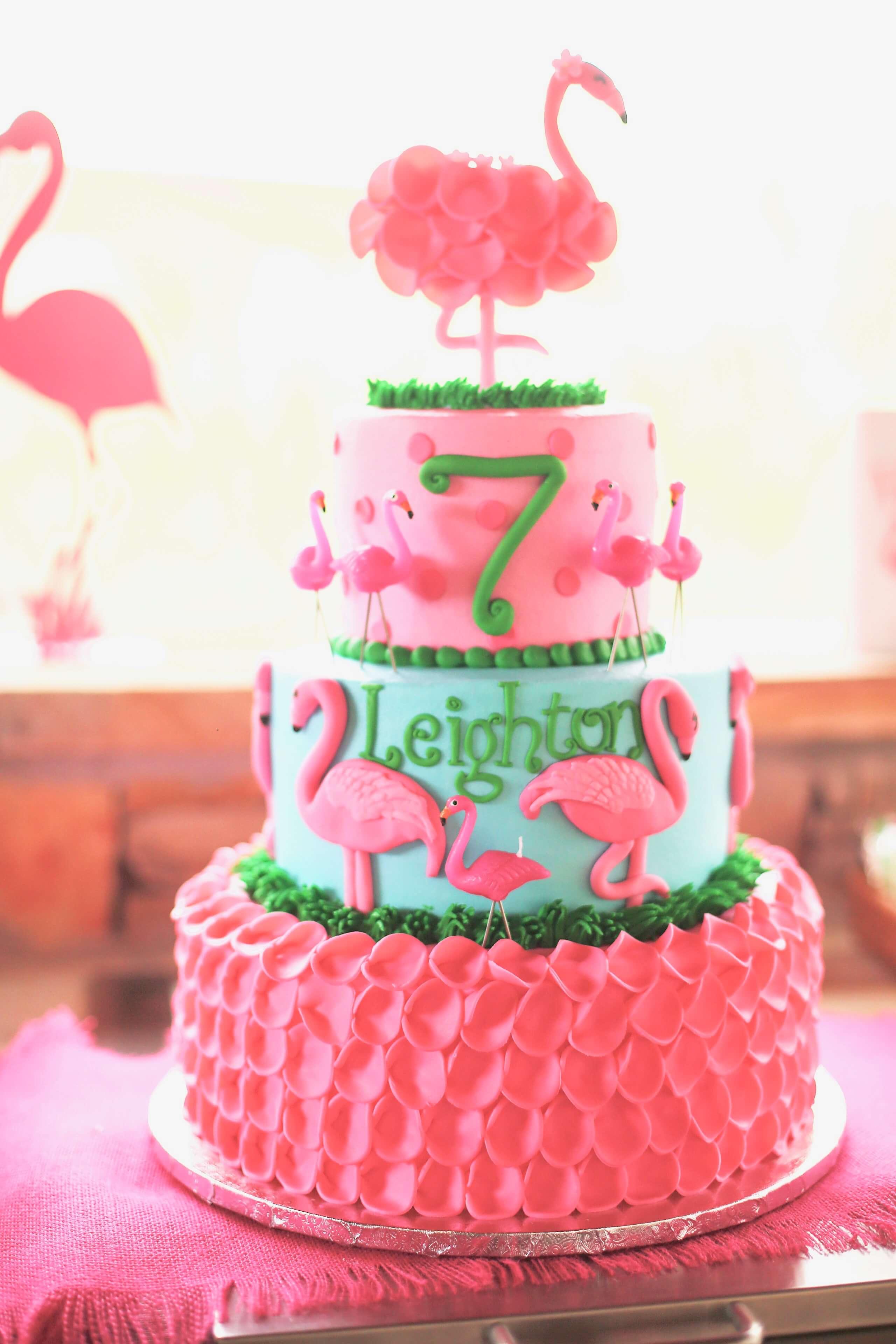 Leighton S Watermelon And Flamingo Birthday Nico And Lala