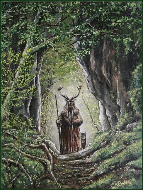 Deerman  Nico Bulder Wildlife Painter