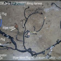 240sx Wiring Diagram Kenmore Elite Dishwasher Harness Data S14 Sr20det Into S13 Swap S2000
