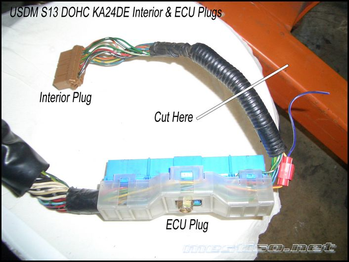 Engine Wiring Harness Diagram Sr20det Wiring Harness Sr20det Ecu