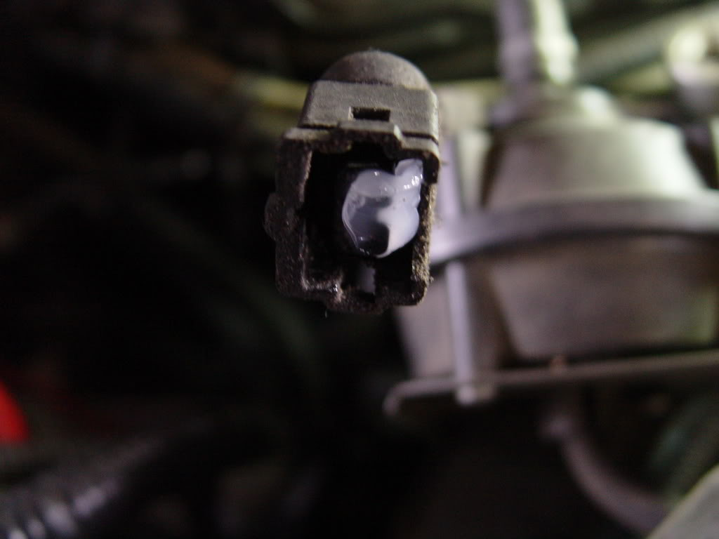 hight resolution of trace the two vacuum lines on the aiv solenoid back to the engine and remove them along with the aiv solenoid itself and all vacuum lines connected to the