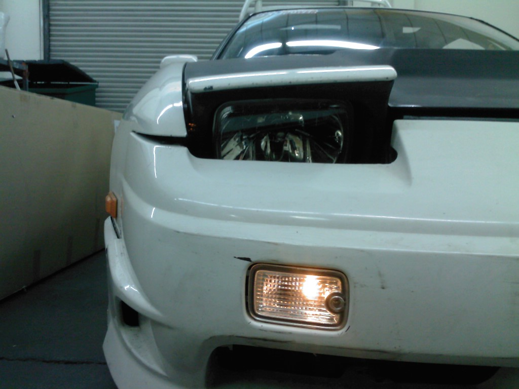 Review and Installation DMAX 180sx Position Lamps