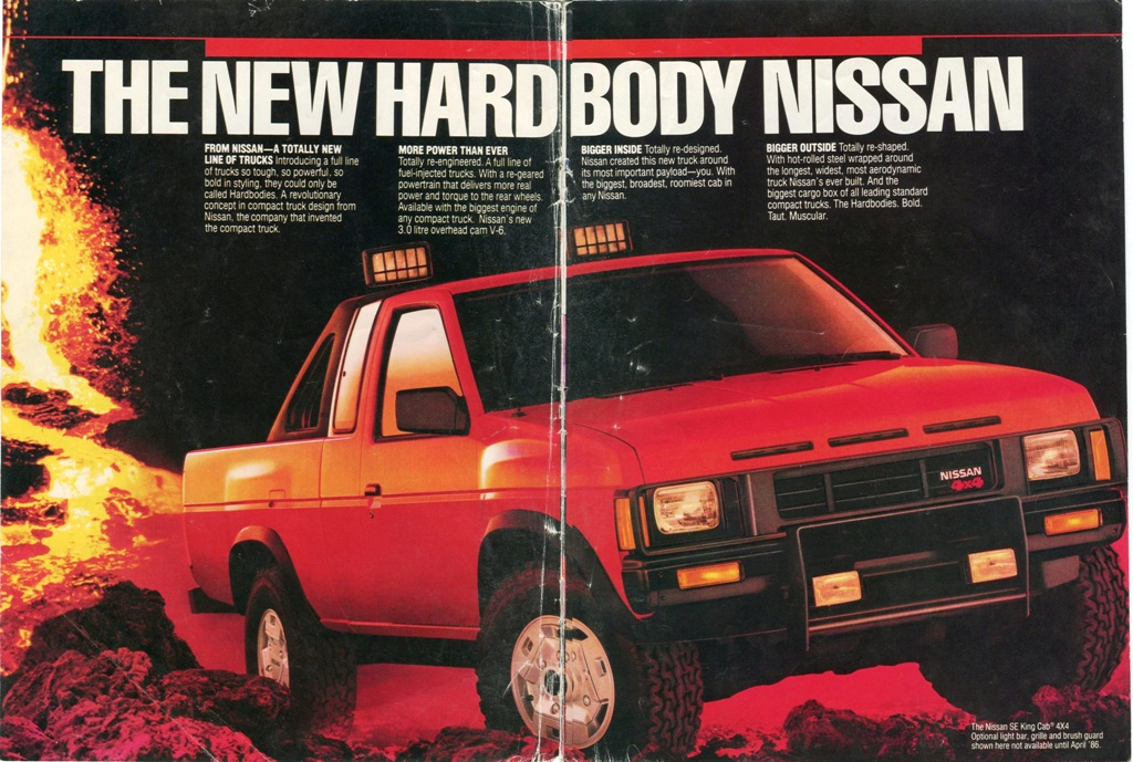 5 Nissan Hardbody Dealer Brochure