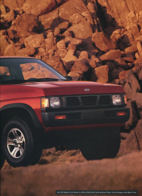 small resolution of 1996 nissan hardbody dealer brochure