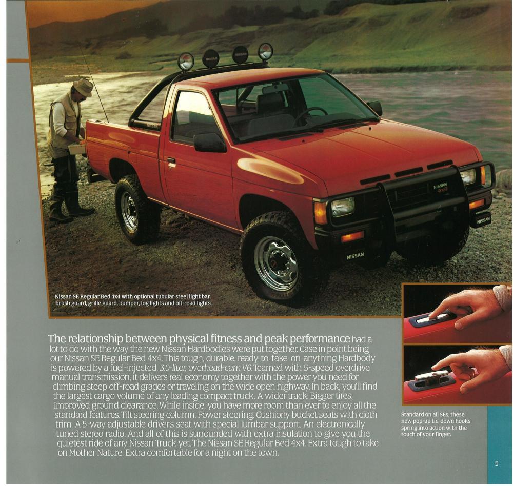 medium resolution of 1987 nissan truck d21 dealer brochure us market