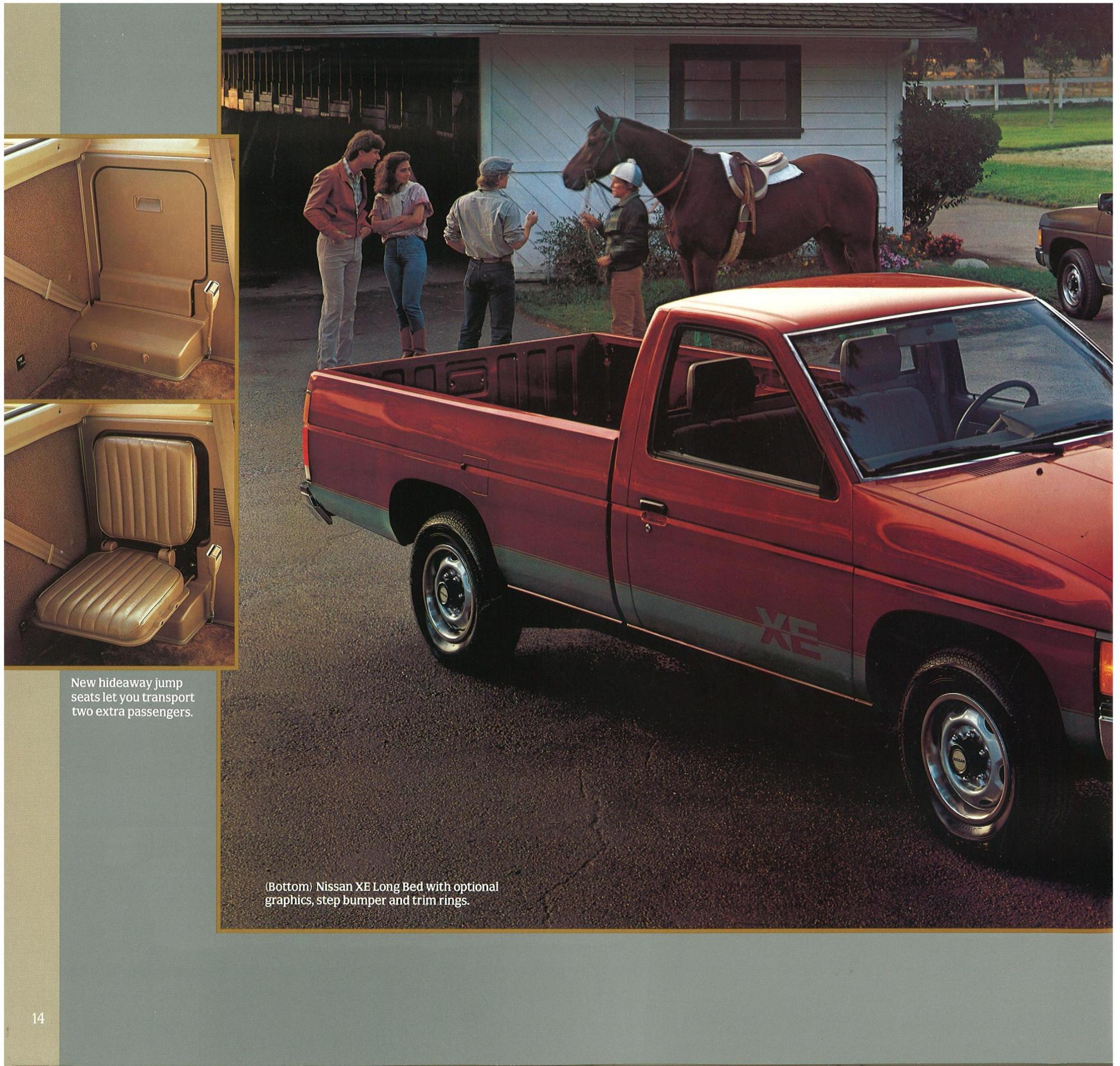 hight resolution of  1987 nissan d21 hardbody trucks brochure b 2 1987 nissan d21 hardbody trucks brochure b