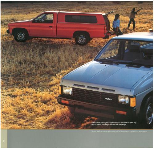 small resolution of  1987 nissan d21 hardbody trucks brochure b 4 1987 nissan d21 hardbody trucks brochure b