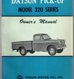 datsun truck model 320 service repair manual download [ 1146 x 1600 Pixel ]