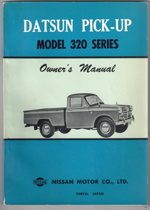 small resolution of datsun truck model 320 service repair manual download