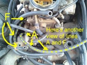 Nissan 720 Pickup Truck Vacuum Hose Routing and Repair Guide