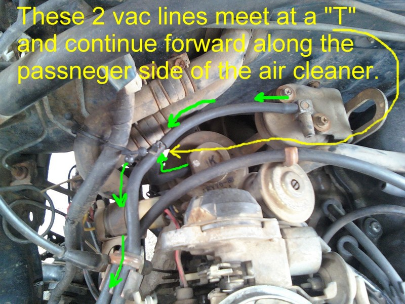 1989 Dodge Fuel System Wiring Diagram Nissan 720 Pickup Truck Vacuum Hose Routing And Repair