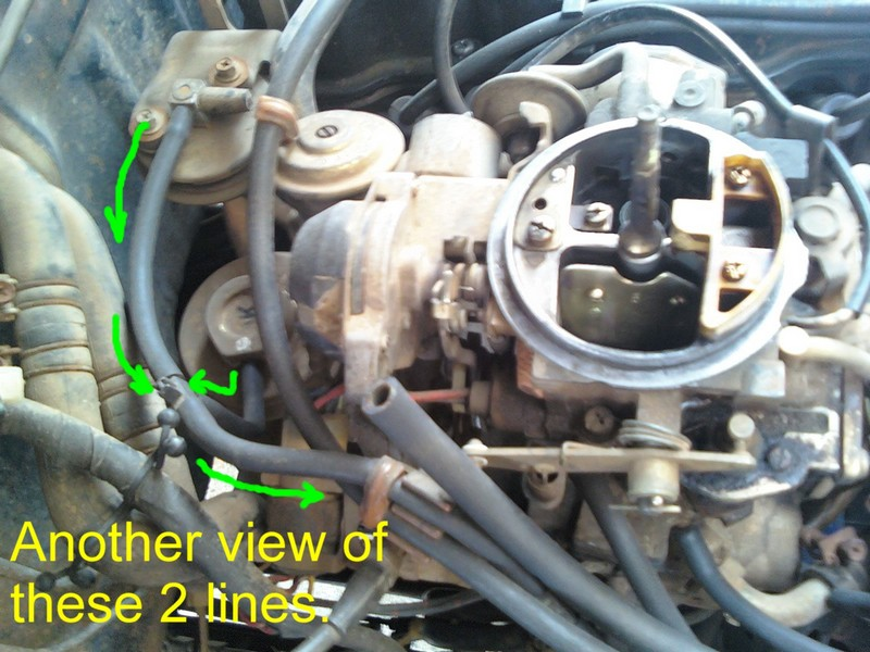 1983 Chevy K10 Wiring Diagram Nissan 720 Pickup Truck Vacuum Hose Routing And Repair