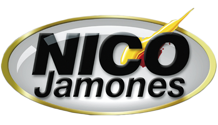 NICO Jamones 1995 Change of logo