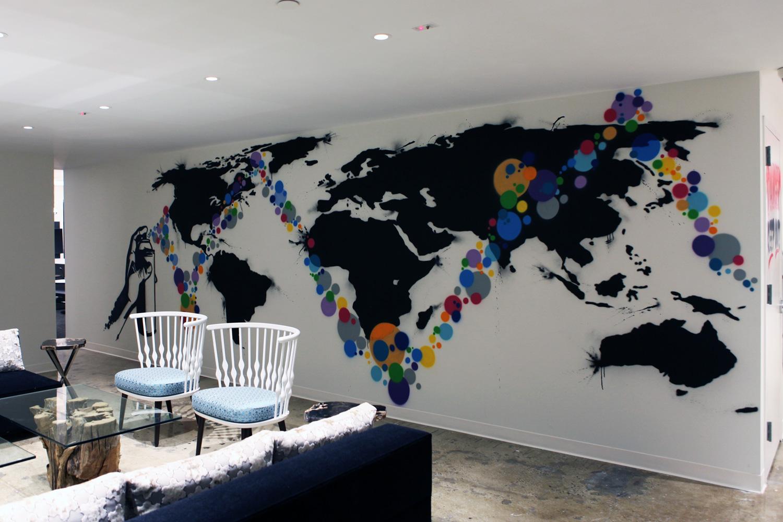 Inspiratie graffiti in huis en kantoor  Nicolaas