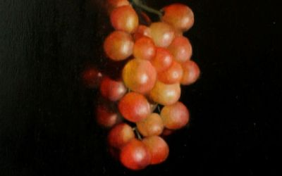 Grape Line. A painting for Worcestershire Open Studios.