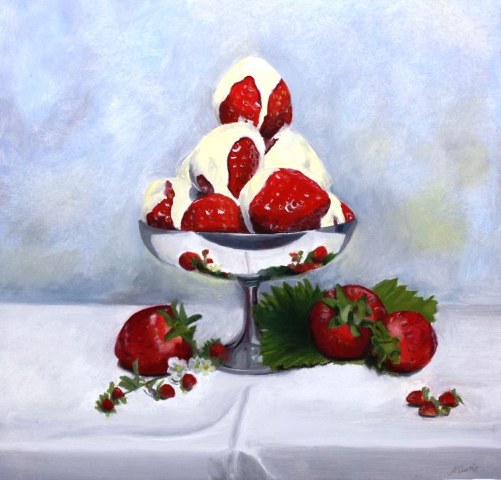 In time for Wimbledon. Strawberries and Cream.