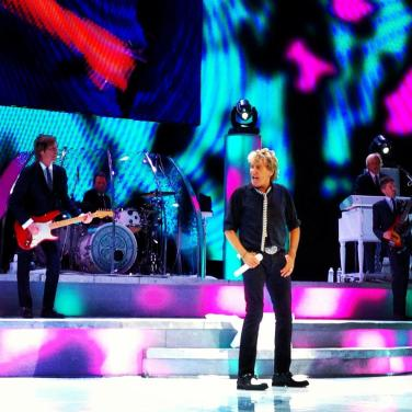 Rod Stewart at Caesars Palace