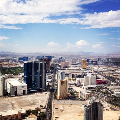 View of The Strip from Stratosphere