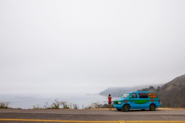 Somewhere on the Big Sur