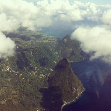 The Pitons, St Lucia