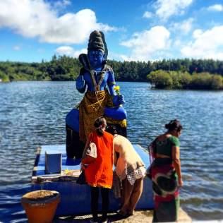 The Sacred Lake, Grand Bassin, Mauritius