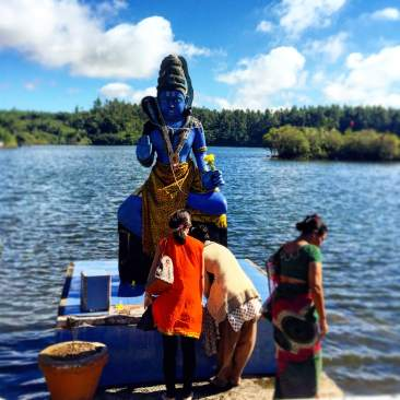The Sacred Lake, Grand Bassin, Mauritius