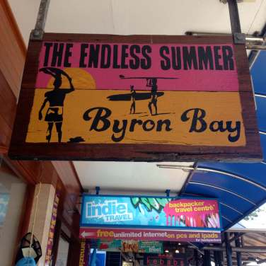 Byron Bay shop signs