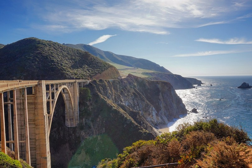 Bixby Ceek Bridge, Big Sur