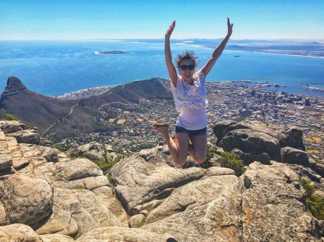 On top of the world, Table Mountain