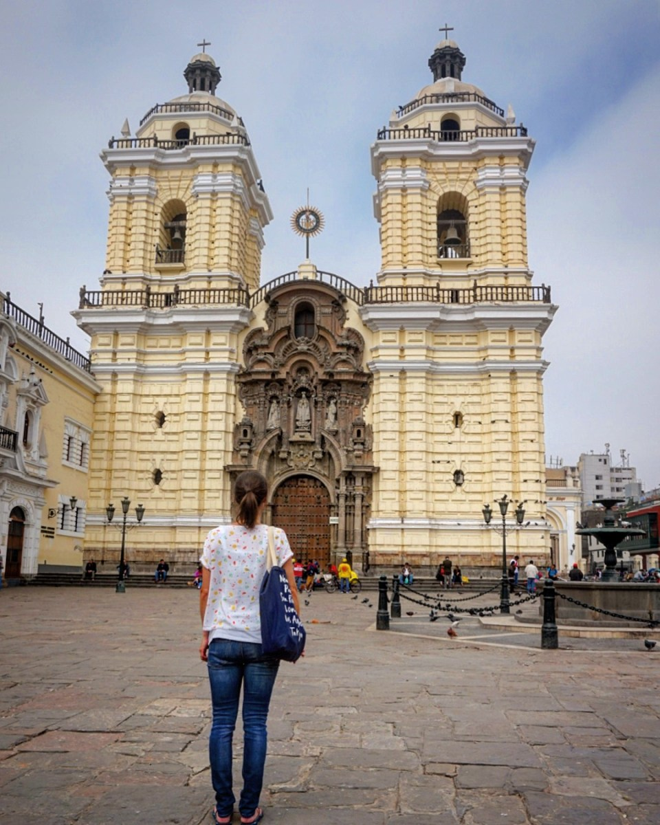 The church and convent of San Francisco in Lima, Peru