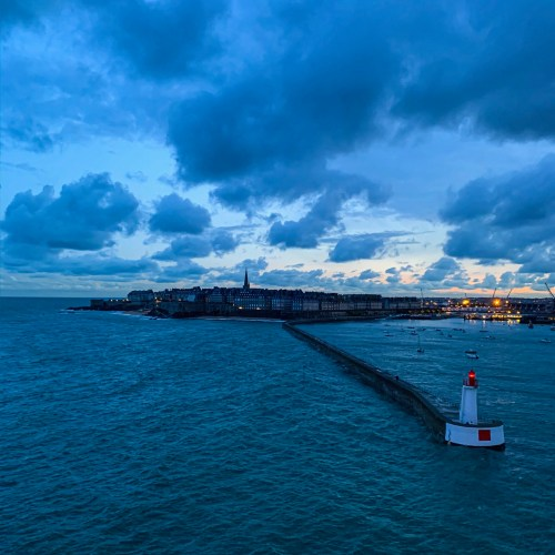 An image of St Malo coming into port