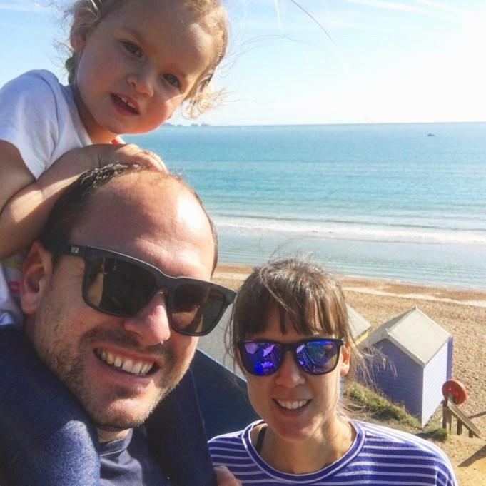 Beach selfie, Milford on Sea