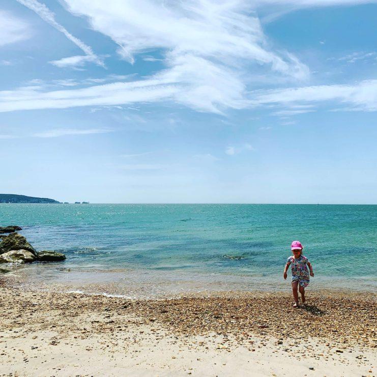 Beach time, Milford on Sea