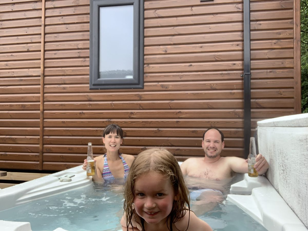 Hot tub, Woodland Lakes Lodges, Yorkshire