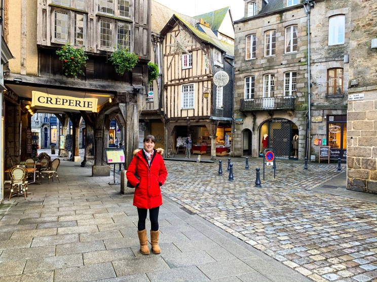 The pretty streets of Dinan