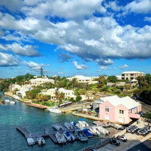 View from my hotel room in Bermuda