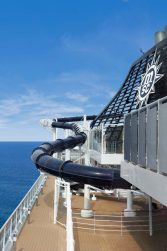 A waterslide onboard MSC Preziosa. Copyright MSC Rights