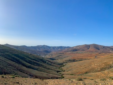 Views of the Betancuria mountain range, Fuerteventura