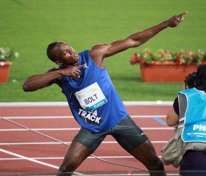 Usain Bolt al Golden Gala 2011 (Wikipedia)