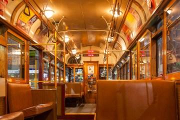 Melbourne: dentro ad un vecchio tram
