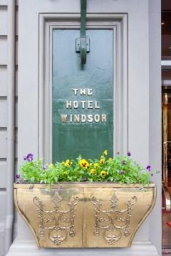 Melbourne: all'ingresso dell'Hotel Windsor davanti al Parlamento dello Stato di Vittoria