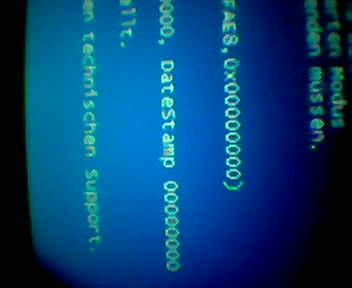Bluescreen- der sagenumwobene Zustand, der angeblich mit XP nicht mehr vorkommen soll